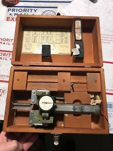 Ex cell o Xlo Bryant P 21 Federal Groove Gage Machinist Tool Free Shipping