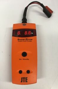 Jte Shortstop Cable Fault Finder Pre owned