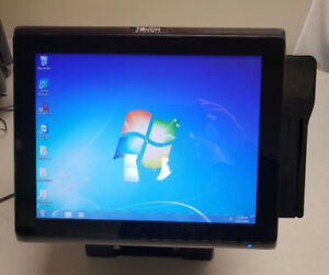 Touch Dynamic J1900 All In One Touch Screen Pos System W Msr Reader Printer