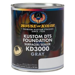House Of Kolor Kd3000 G01 Kustom Dts Foundation Surface Sealer Gray Gallon