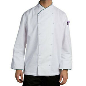 Wholesale Chef Revival Corporate Chef Jacket Xl Green Piping