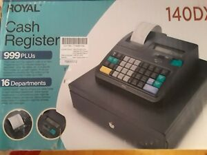 Nib Royal 140dx Cash Register Brand New