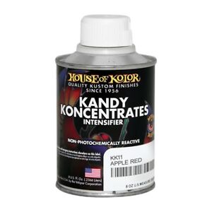 House Of Kolor Kk11 c02 Apple Red Kandy Koncentrate Paint Intensifier 1 2 Pint