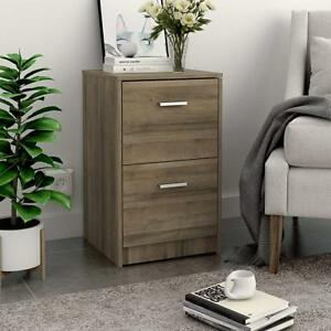 2 drawers Wood Vertical Filing Cabinet Letter Size office Cabinets night Stand