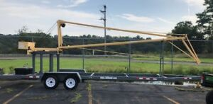 Tall Hand Portable Crane On Trailer Used Once Local Pickup Only