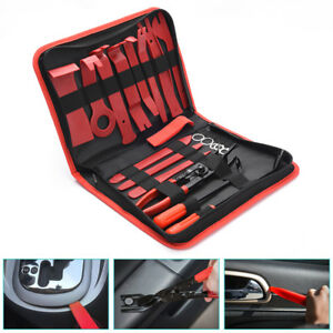 MICTUNING 19x Auto Audio Trim Removal Tool Repair Set Clip Plier Upholstery kits $27.99
