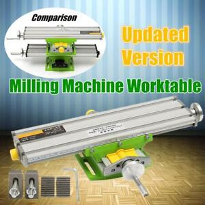 New 2 Axis Compound Cross Slide Working Table Adjustment X y Milling Working