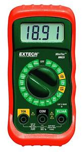 Wholesale Lot Of 12 Extech Mn25 Minitec Digital Multimeter