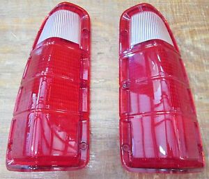1972 1980 Dodge Truck Plymouth Power Wagon Tail Light Lens Only Gb 4700 Pr