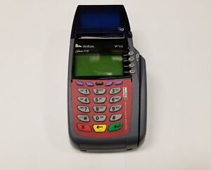 Verifone Vx510 Omni 3730 Pos Credit Card Reader Printer Terminal tested