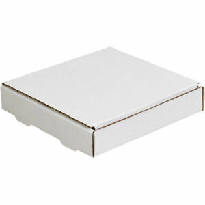 8 x8 x1 1 4 Literature Mailer 200 Lb Test ect 32 b White 50 Pack Lot Of 50