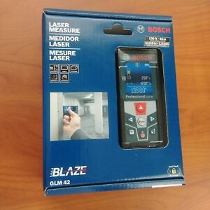 Bosch Blaze Glm 42 135 Ft 40m Laser Measure With Full color Display Brand New
