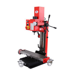 Mini Drilling Milling Machine 550w Motor With Variable Speed Drive 20 2500rpm