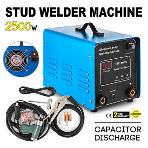 Capacitor Discharge Stud Bolt Plate Welder Machine Signs Electrical Cabinet
