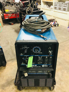 Miller Bobcat 225 Engine Drive Welder Generator With Leads