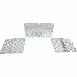 Grille For 2014 2015 Jeep Grand Cherokee Chrome Plastic