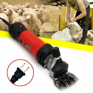Electric Sheep Shear Clipper Wool Livestock Trimmer Animal Grooming 110v 650w