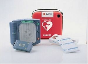 Philips Heartstart Home Defibrillator With Red Case Brand New In Box