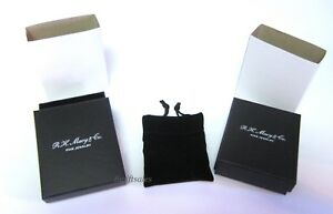 R h Macy Macy s Jewelry Display Gift Boxes W Pouches Bracelet necklace rings