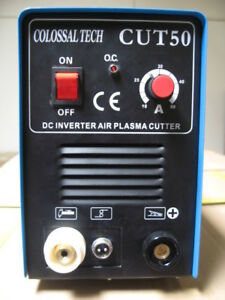 Plasma Cutter 50amp New Cut50 Inverter 220v Voltage Includes 80 Consumables