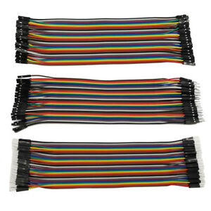 20cm Dupont Jumper Wire Cable 40pin M m F f M f For Arduino Breadboard 2 54mm