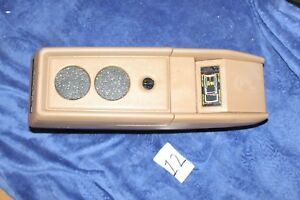 83 88 Ford Bronco Ii 2 Ranger Center Console W Warning Light Message Center