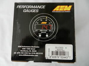 Aem X Series Wideband Gauge Afr O2 Uego Air Fuel Ratio 30 0300