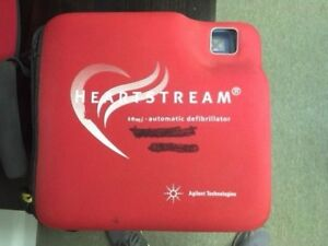 Agilent Heartstream Fr2 In Case W New Adult Pads And Batteries