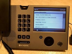 Lg nortel Ip 8540 Office Business Phone Usa Touchscreen