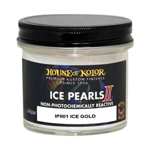 House Of Kolor Ipii01 C01 Ice Pearls Gold Ii Custom Sparkle Effect 2 Oz