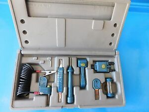 Bek Tech Computer Test Kit Bought By Snap On Tools Part blue Point ya2100