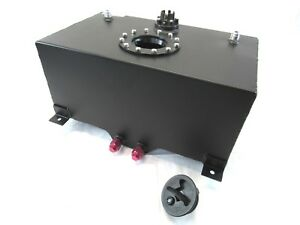 Aluminum 8 Gallon Fuel Cell With Sender Black Bpf 1003b