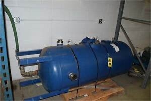 Wendland 150 Gallon Lined Water Pressure Tank Mfg 2006 Rated 150 Psi 24 x90