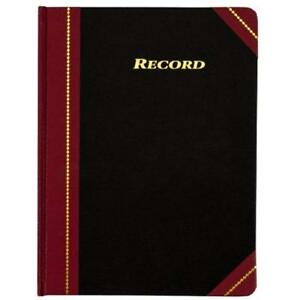 Record Ledger Books 8 25 X 10 75 Inches Squares Per Inch 300 Tinted Pages