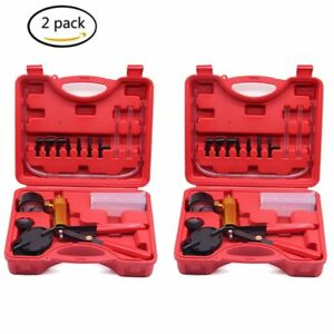 2sets 2 In 1 Brake Line Air Bleeder And Vacuum Pump Tester Test Bleeding Tool Bt