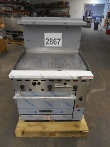 2867 New s d Vulcan Endurance Range Convection Oven 36 T griddle 36cf 36gtn