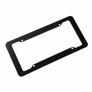 Carbon Fiber Racing License Plate Tag Frame For Honda S2000 Crz Fit Accord