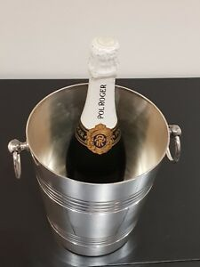 Silver Plated Wine Cooler Ice Bucket