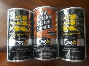Bg Products Service Kit 44k Air Intake Fuel Injection System Cleaner New