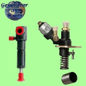 Electric Diesel Fuel Pump 4 Left Port Injector For Amico Shuanghao Power quip