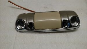 1970 1980 Gm Chrome Dome Light With Map Lights Oem Buick Chevrolet Oldsmobile