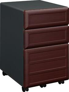 Ameriwood Home Pursuit Mobile File Cabinet Cherry