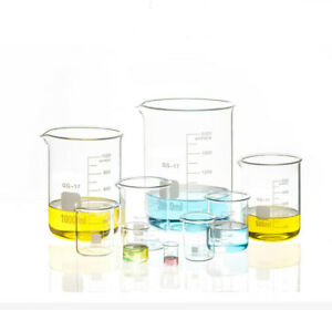 500ml 5000ml Chemistry Laboratory Glass Beaker Beaker Borosilicate Measuring
