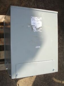 Ge 25kva Transformer 9t21b9104 Primary 240 480v Secondary 120 240 1 Phase New