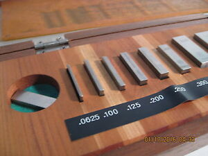 Mitutoyo Inspection Gage Block Set