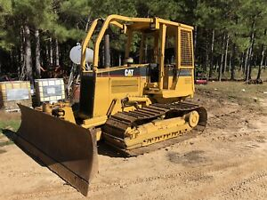 Cat D4c Series Iii Lgp Hydrostatic Hystat Dozer W 6 way Blade New Engine