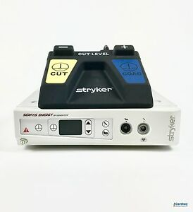 Stryker Serfas Energy Rf Generator With Footswitch