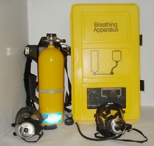 Self contained Emergency Escape Mask Tank Respirator Breathing Ppe Apparatus