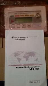 Honeywell Fire lite Lcd 80f 24 Vdc Remote Fire Annunciator New In Box