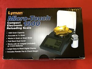 Lyman Micro-Touch 1500 Electronic Scale 110V